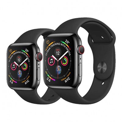 Apple Watch S4 44mm viền thép lướt